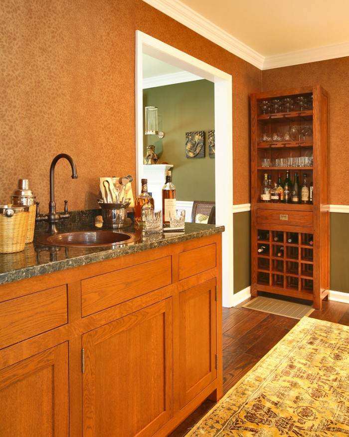 3 Compartment Corner Bar Sink