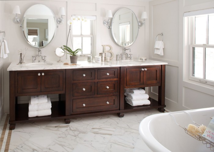 48 Inch Double Sink Bathroom Vanity Top