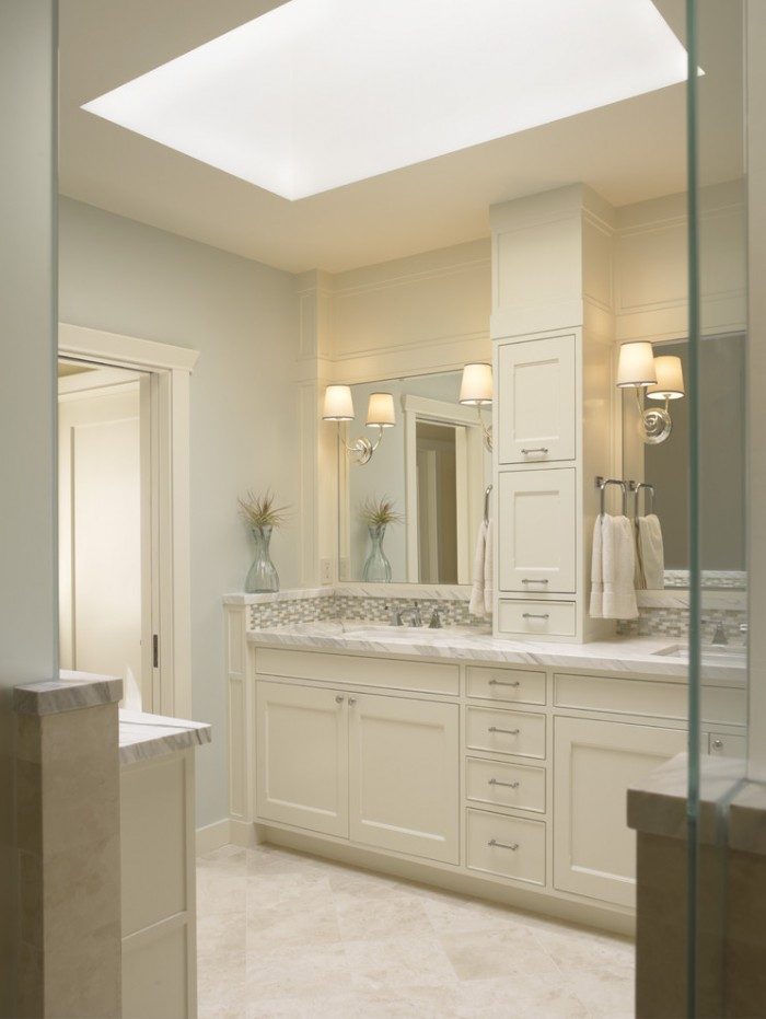 48 Inch Wide Double Sink Bathroom Vanity