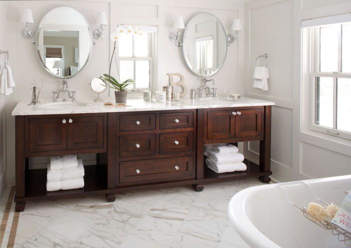 54 Inch Double Sink Vanity Top