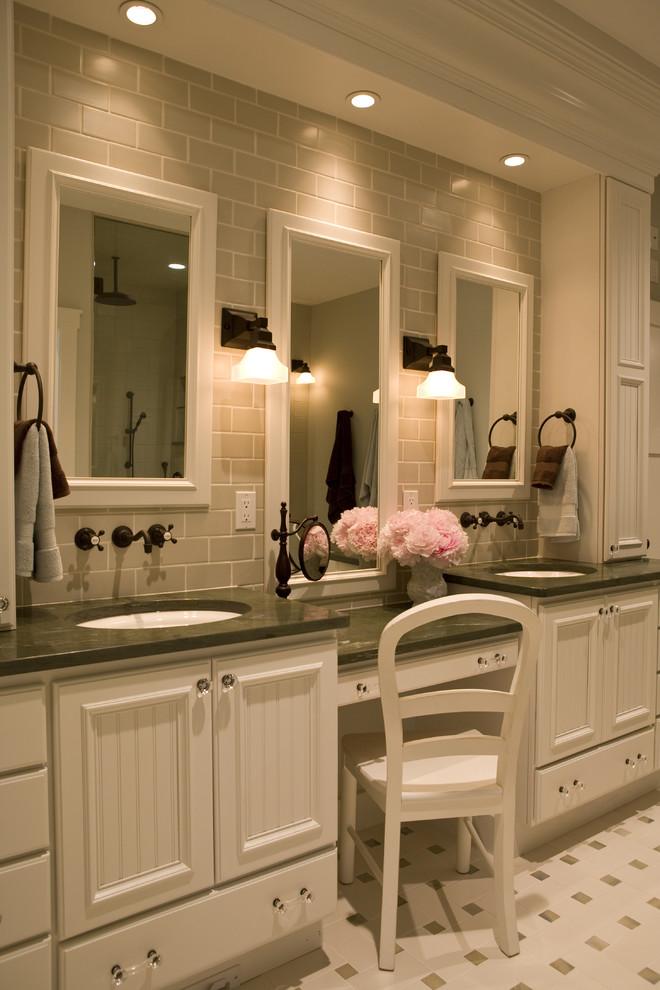 55 Inch Double Sink Vanity Top