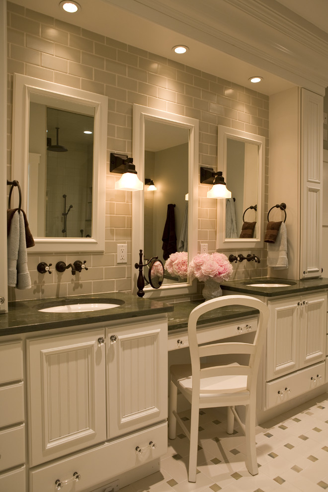 60 Inch Vanity Double Sink White