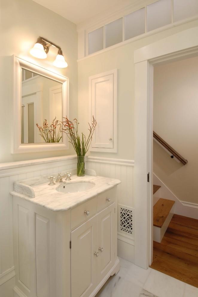 72 Inch White Bathroom Vanity Single Sink