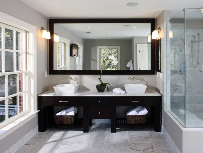 Apron Sink Bathroom Vanity