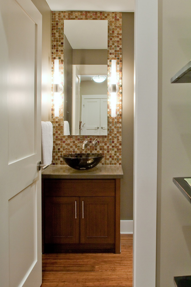Bath Vanities with Vessel Sinks