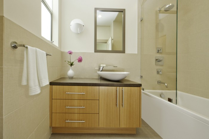 Bathroom Vanity and Vessel Sink Combo