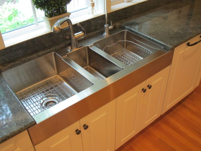 Commercial Three Compartment Sinks