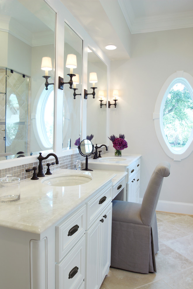 Double Sink Vanity With Makeup Table Download Page Home Design Ideas Galleries Home Design