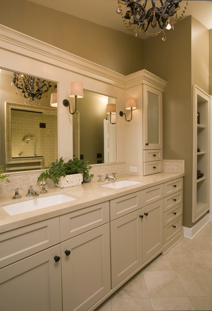 Double Sink Vanity Top 48