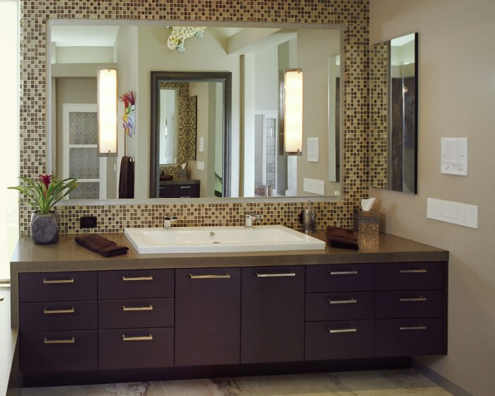 Double Trough Sink Vanity