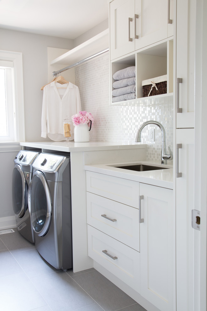 compact laundry room sink - sink ideas