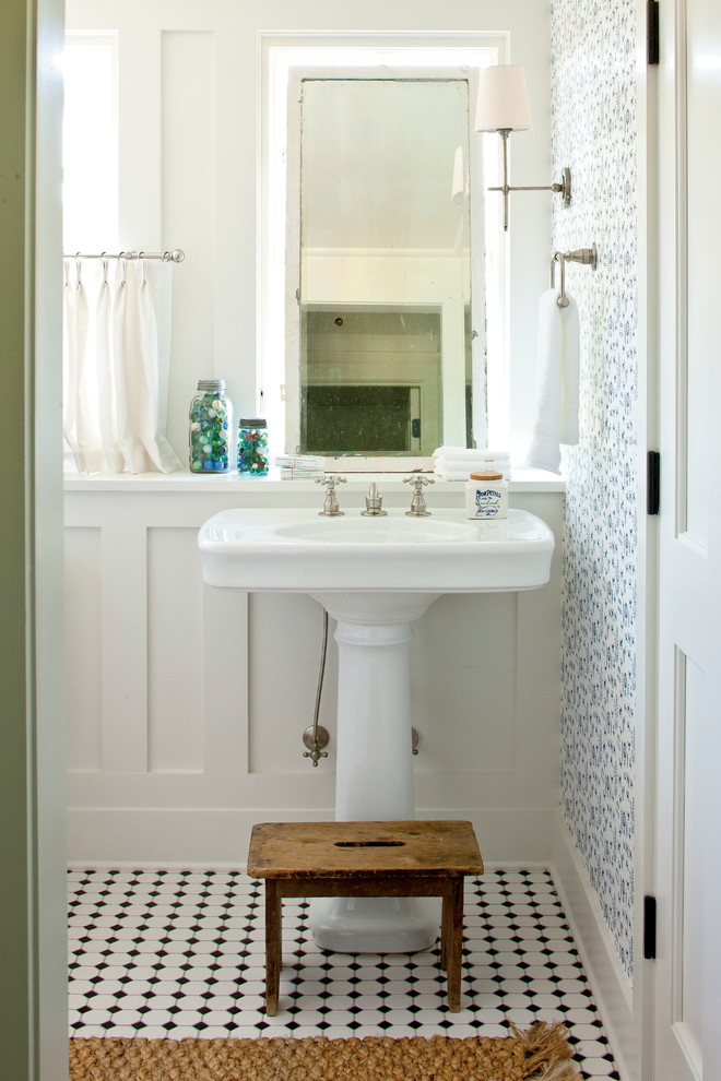 Kohler Bancroft Pedestal Sink 24 Cloakroom Home Design Ideas