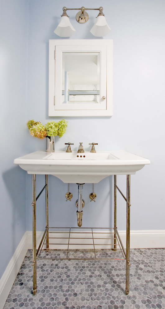 Metal Console Sink Base