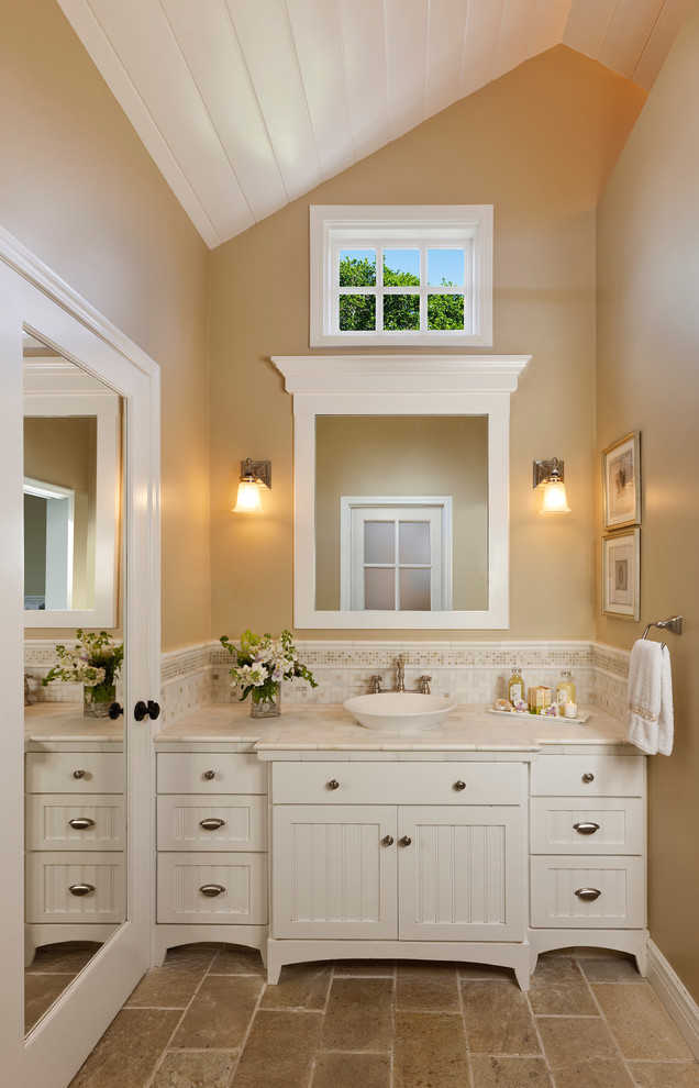 Narrow Bathroom Vessel Sinks