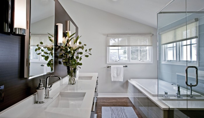 Rectangle Undermount Bathroom Sinks