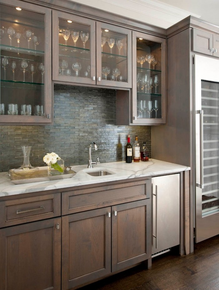 Small Wet Bar Sink Cabinet