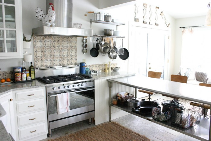 Stainless Steel Food Prep Table with Sink