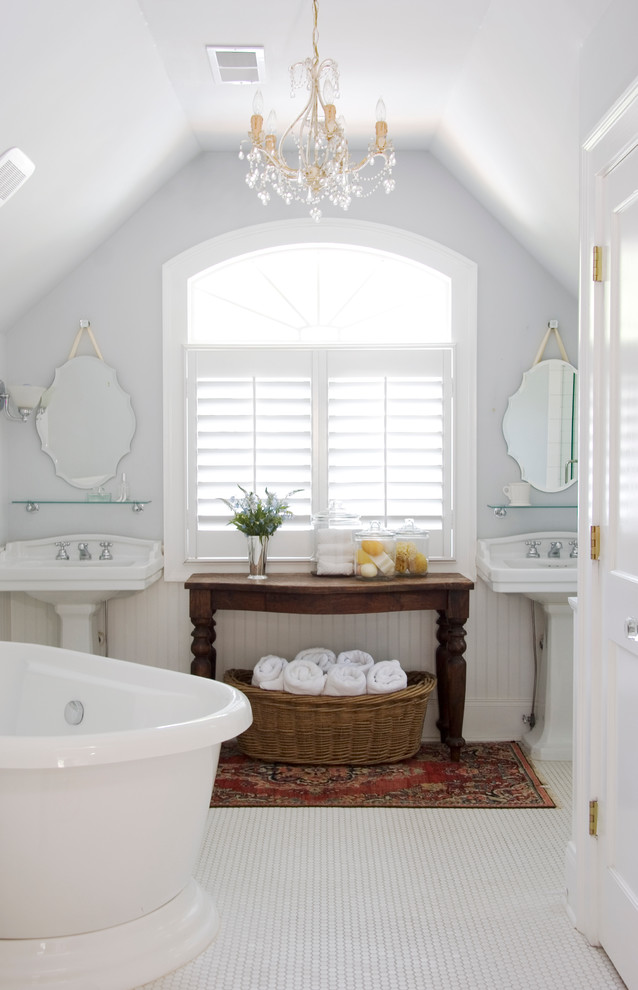 Storage for Small Bathrooms with Pedestal Sinks