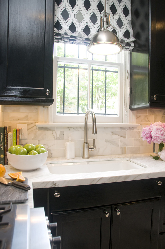 Undermount Utility Sink Black