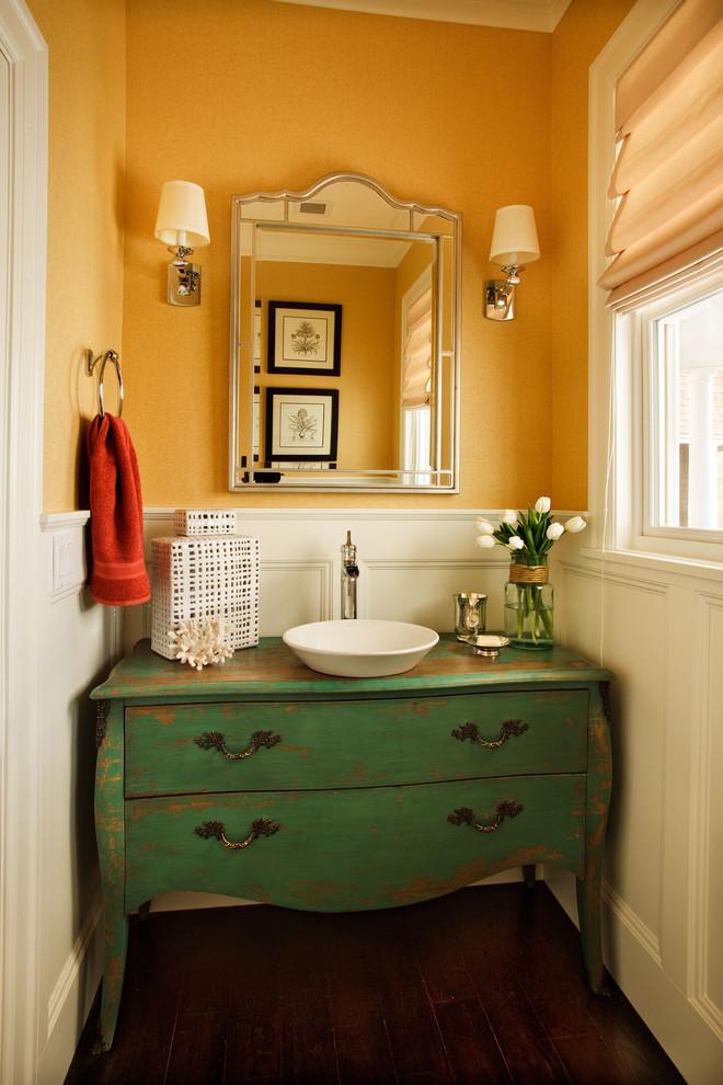 Vessel Sink Vanity and Faucet