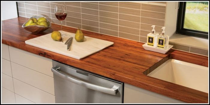 butcher block countertops ideas