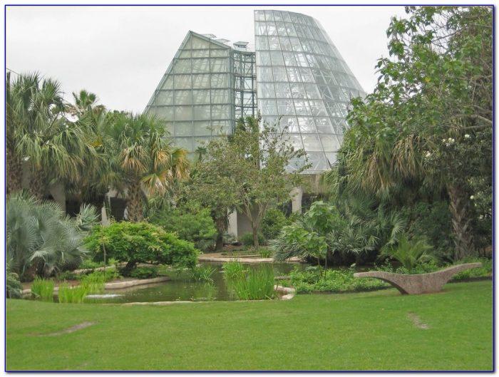 Botanical Gardens San Antonio Map