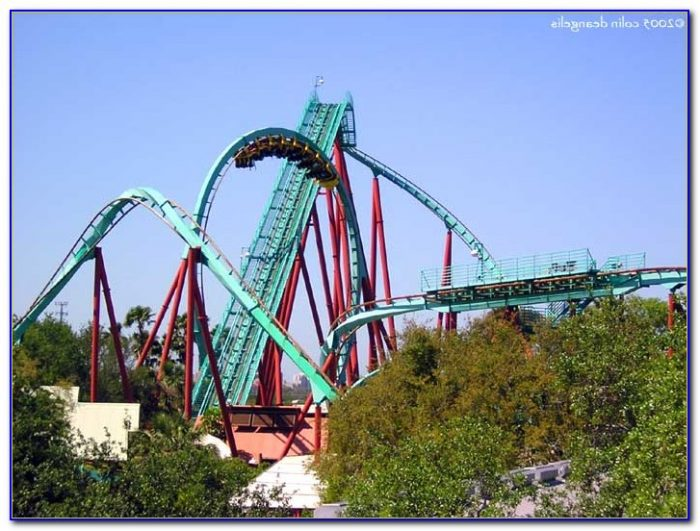 Busch Gardens Roller Coasters Sheikra