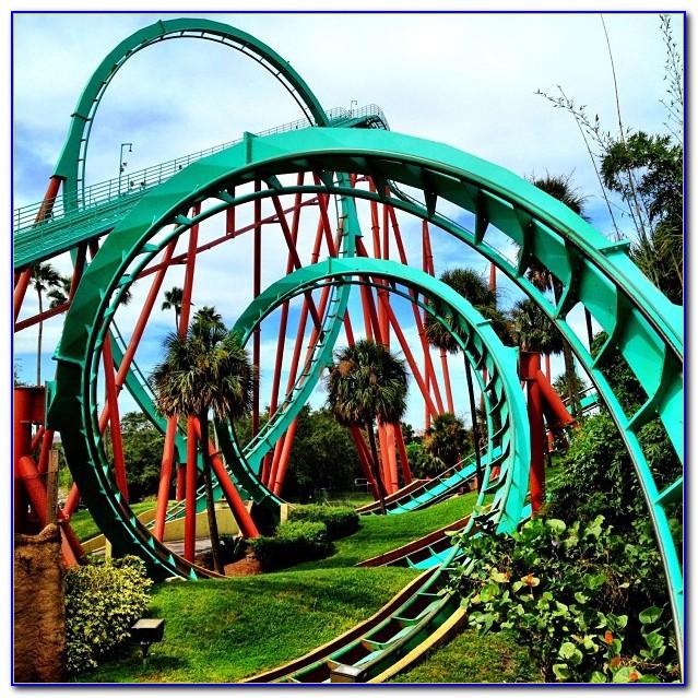Busch Gardens Tampa Rides Closed