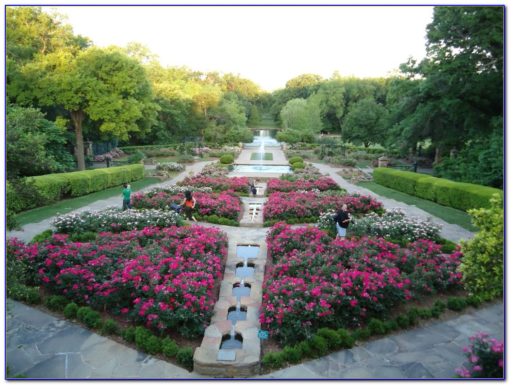 Fort worth botanical gardens wedding garden home for Botanical garden design