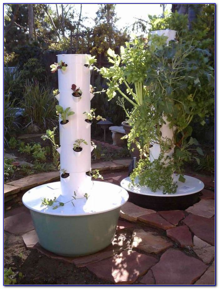 Juice Plus Tower Garden Assembly