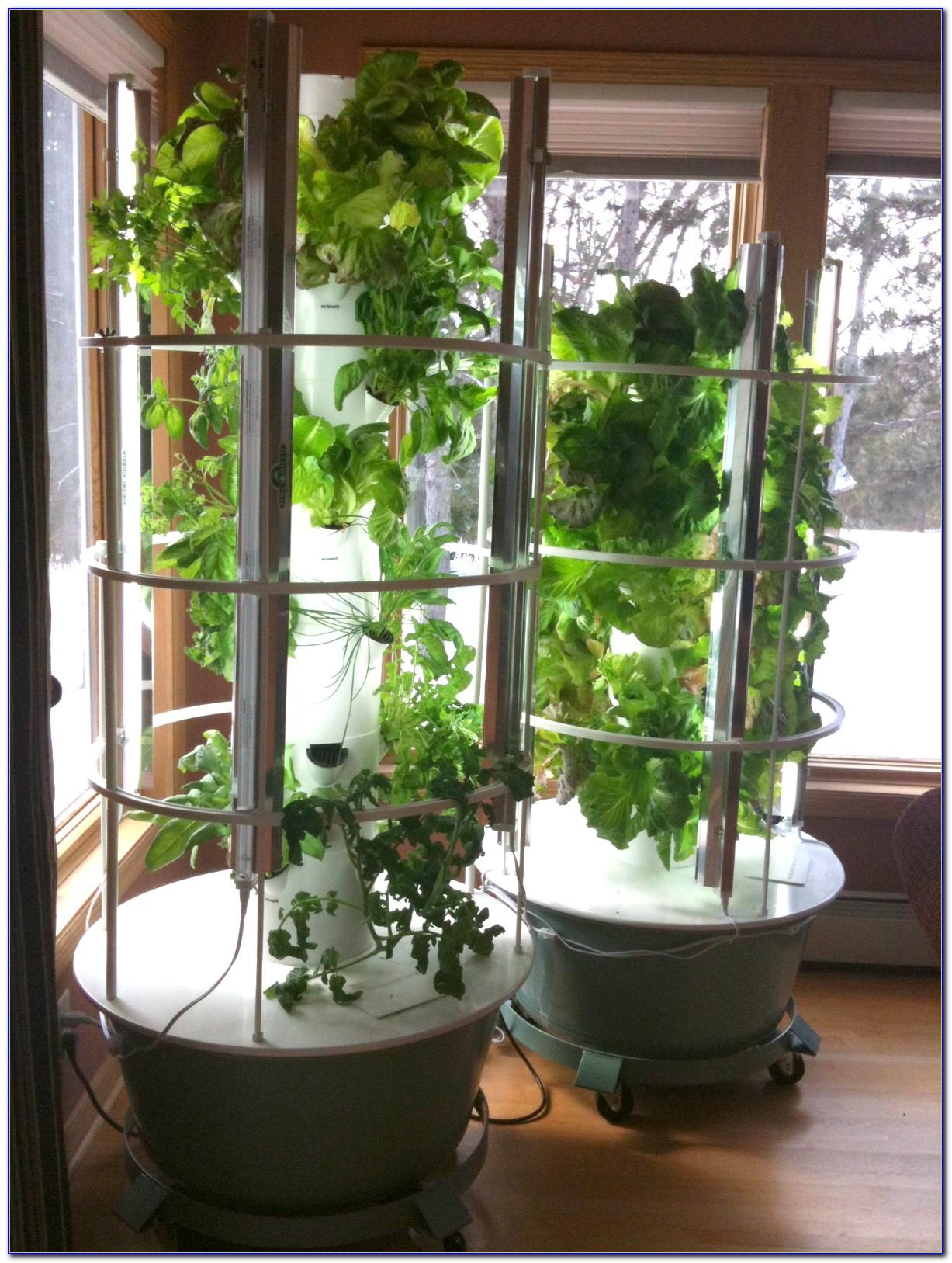 Juice Plus Tower Garden Lights Garden Home Design Ideas