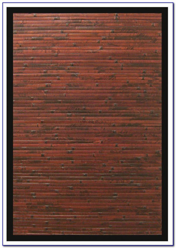Bamboo Area Rug Over Carpet Rugs Home Design Ideas