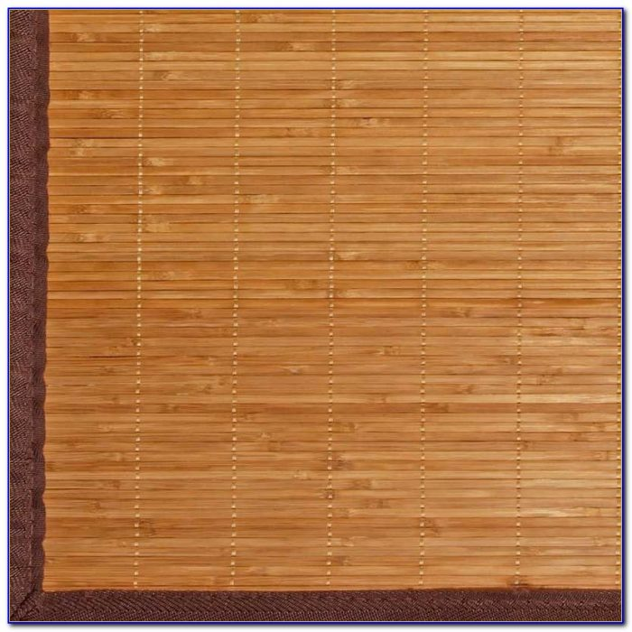 9x12 Area Rugs Living Room: Bamboo Area Rug Over Carpet