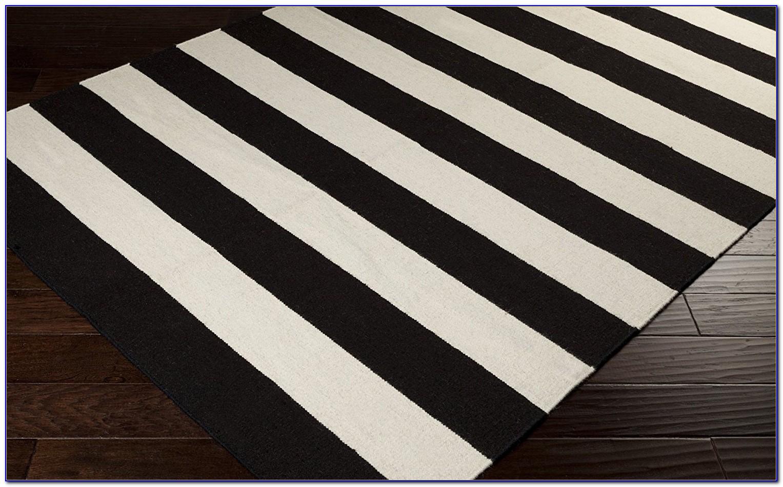 Black and white striped rug runner rugs home design ideas ymngvwypro55356 - Black white striped carpet ...