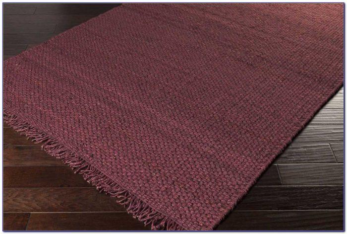 Burgundy Wool Area Rugs