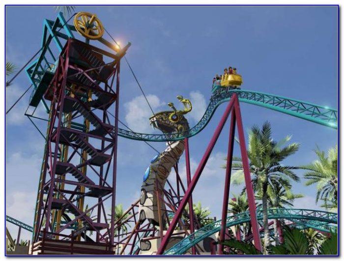 Busch Gardens New Roller Coaster Williamsburg