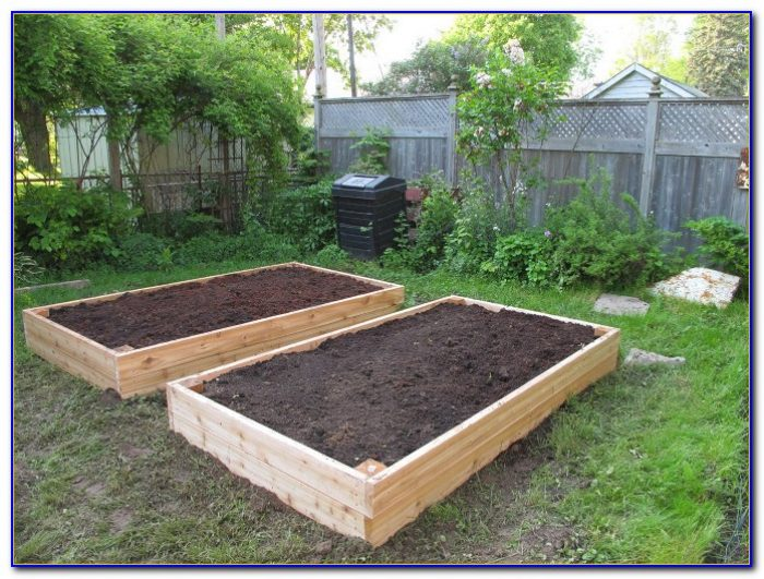 Cedar Raised Garden Beds Canada
