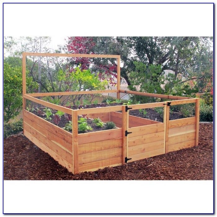 Cedar Raised Garden Beds Diy