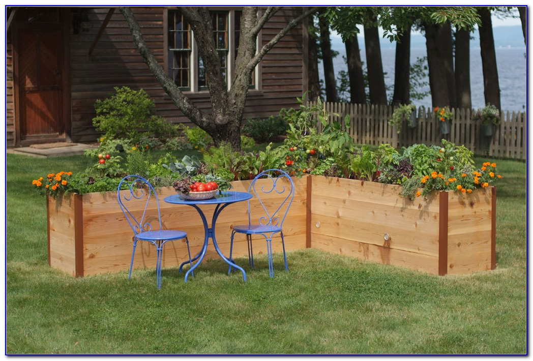 Cedar raised garden beds kits download page home design for Garden design kits