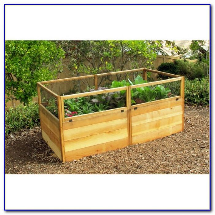 Raised bed garden kits cedar garden home design ideas for Garden design kits