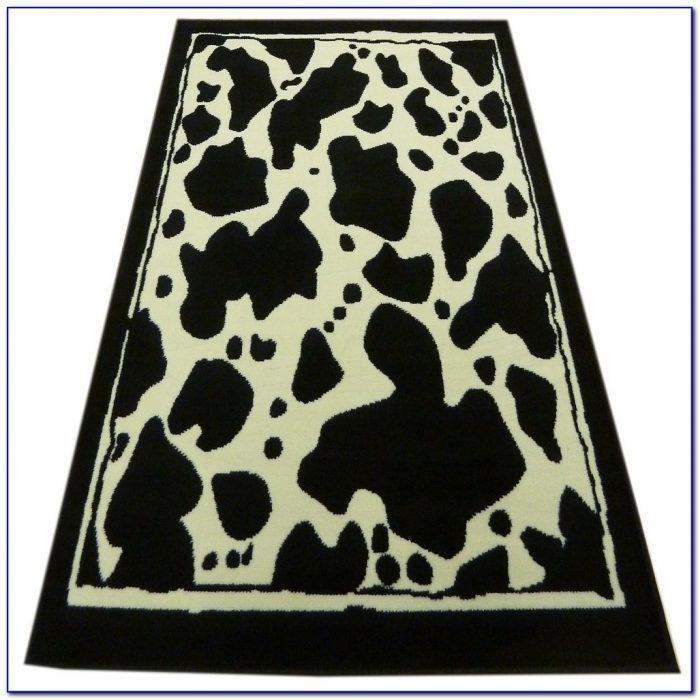 Cow Print Rug Ebay