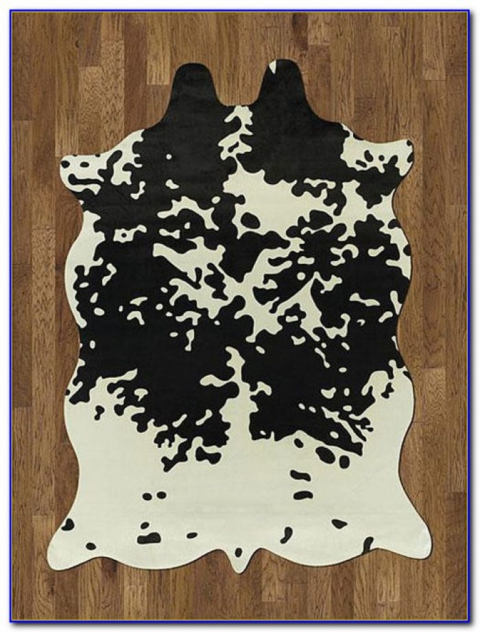 Cow Print Rug Horse