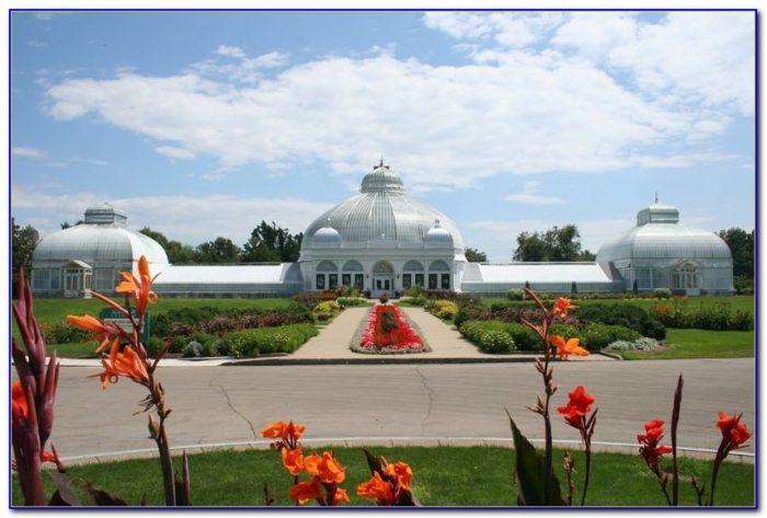 Distance Around Botanical Gardens Buffalo Ny