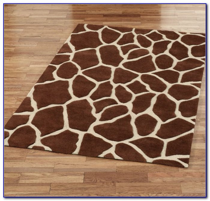 Giraffe Print Rug Australia