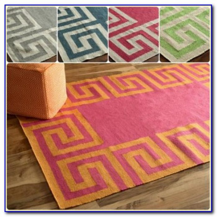 Greek Key Rug Runner