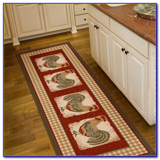 Kitchen Rugs Rooster Design