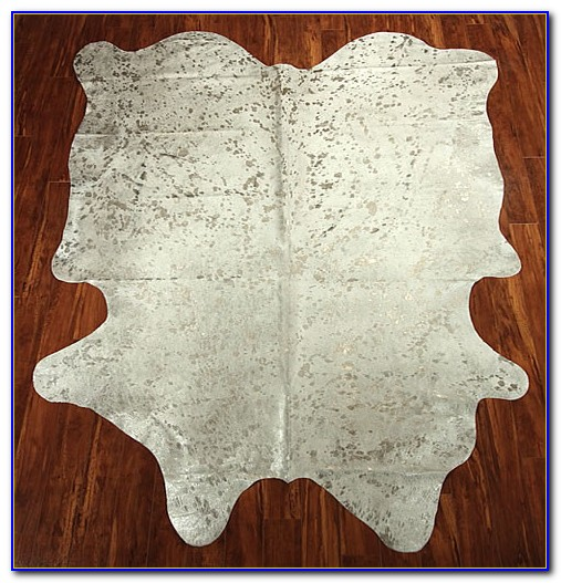 Metallic Cowhide Rug Pottery Barn Download Page Home