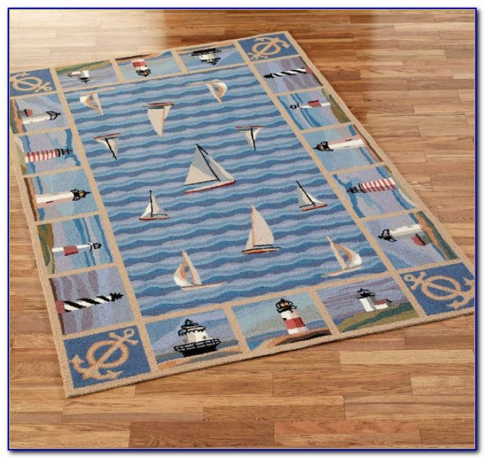 Nautical Area Rugs 3x5