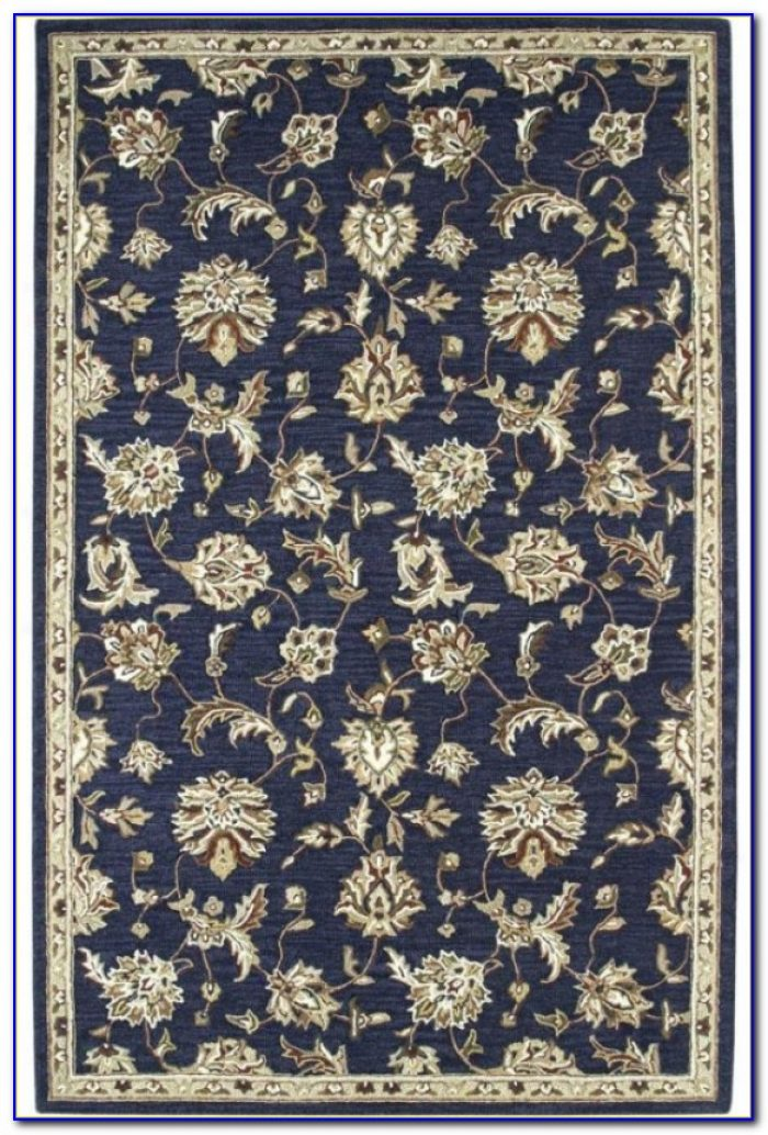 Navy Blue Area Rug Target Rugs Home Design Ideas
