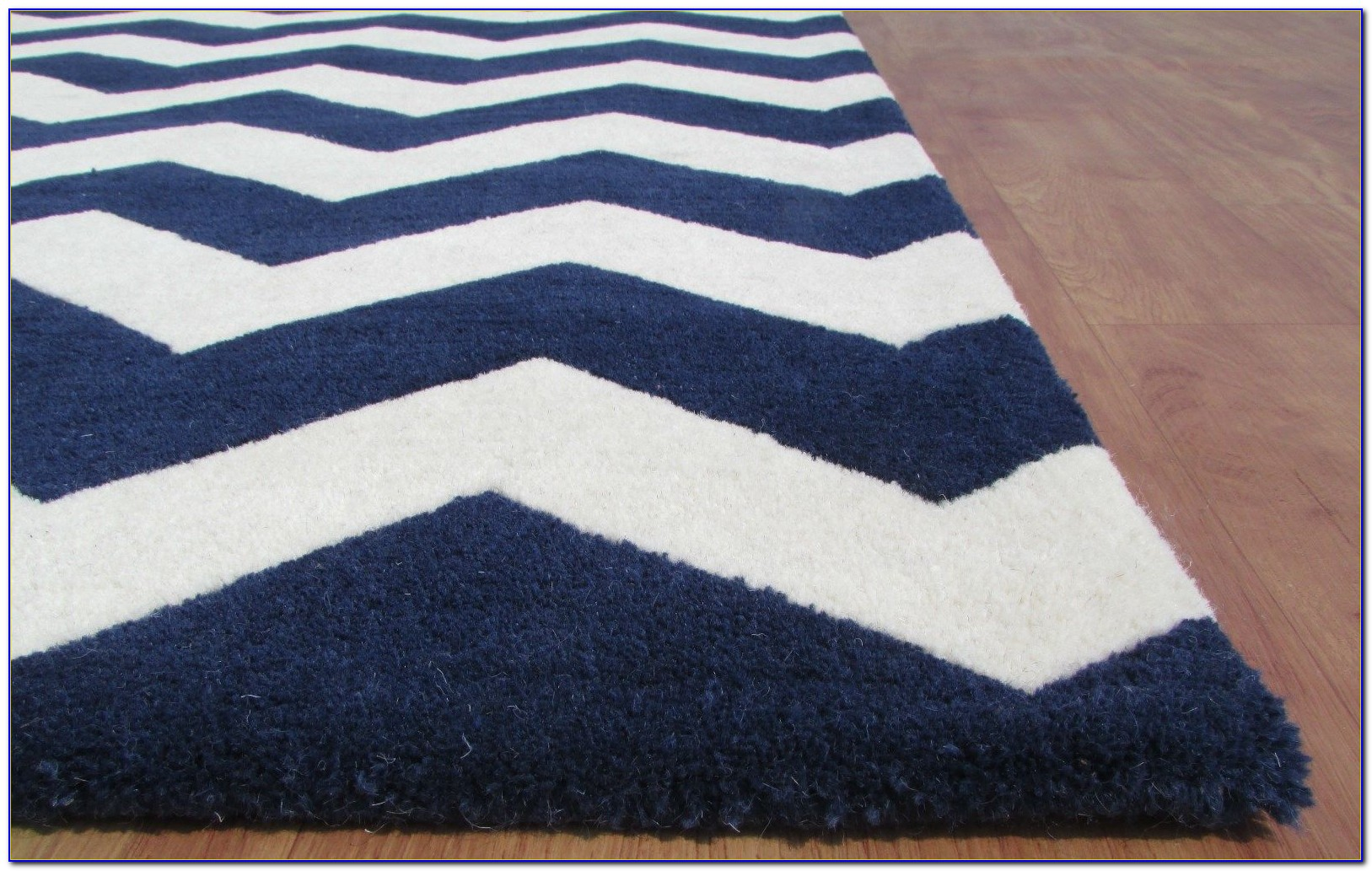 Navy Chevron Rug 4 215 6 Rugs Home Design Ideas